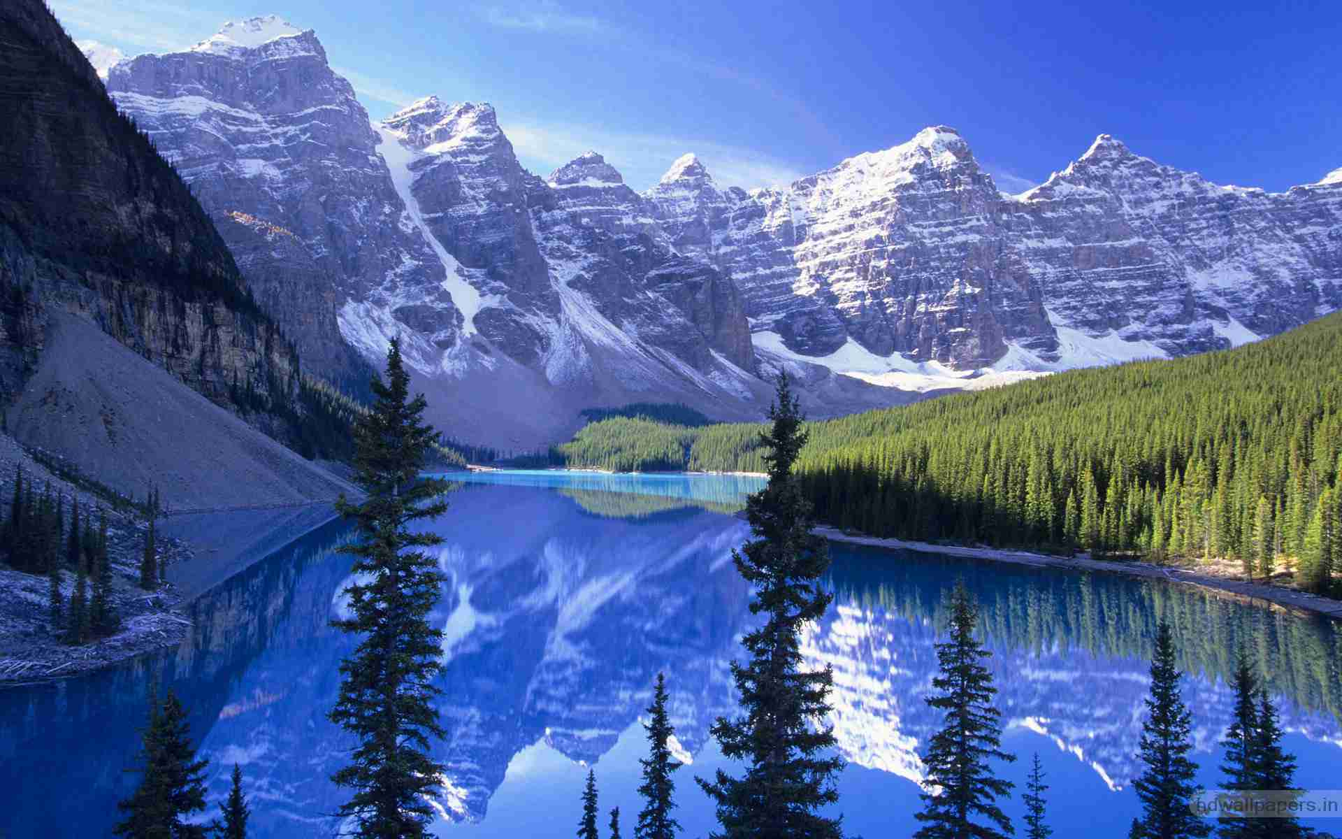Alberta National Park Canada Widescreen Wallpapers