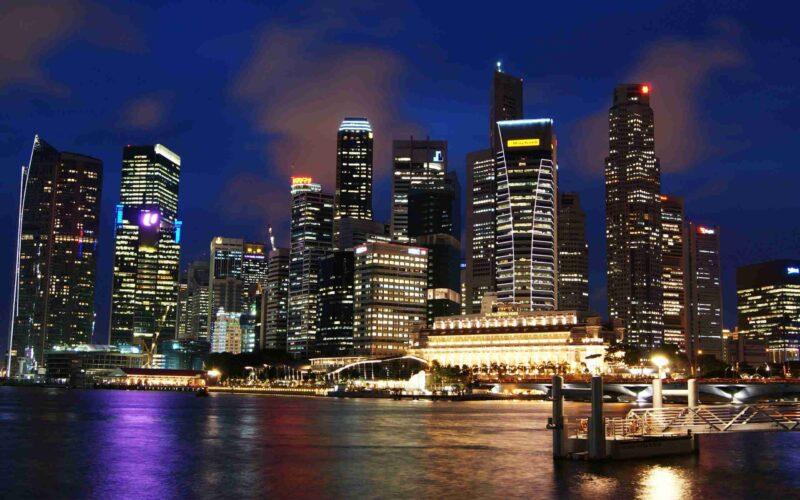 Singapore Skyline High Resolution Wallpaper