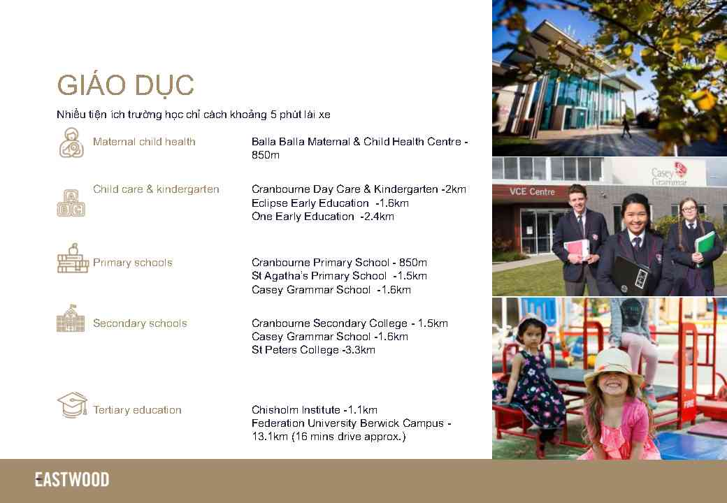 Eastwood Cranbourne Introduction Page9